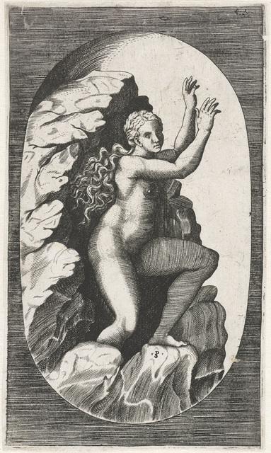 Eurydice komt de onderwereld uit