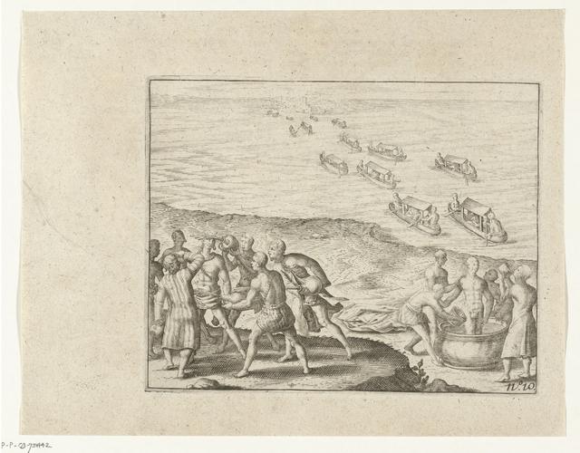 Feestceremoniën te Pegu, 1604