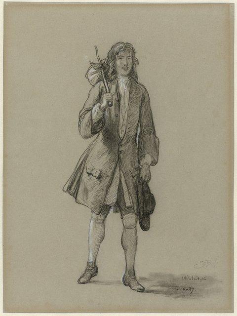 Ferdinand Huyck keert terug uit den vreemde. Illustratie voor het gelijknamige boek van Jacob van Lennep