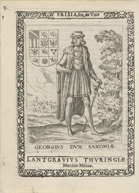 George van Saksen, erfpotestaat van Friesland