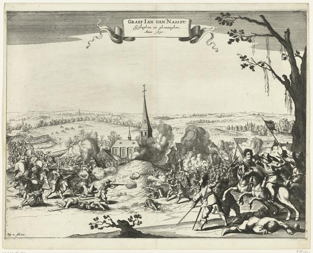 Gevangenneming van Johan VIII, graaf van Nassau-Siegen tijdens gevechten bij Wesel, 1630