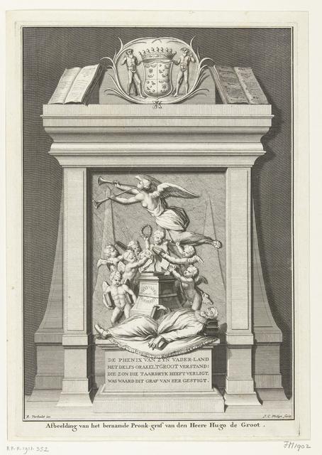 Graftombe van Hugo de Groot, overleden in 1645