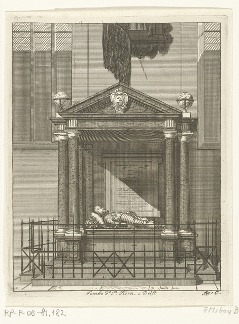 Graftombe van Piet Hein te Delft, 1629