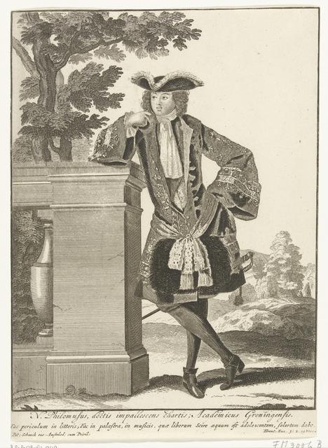 Groninger student, ca. 1700