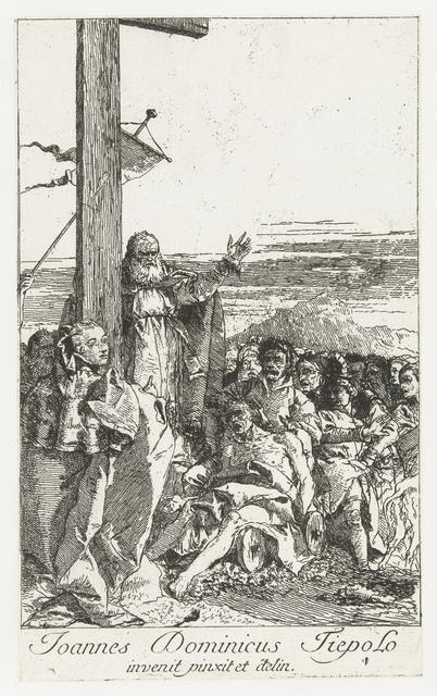 Heilige Helena en het wonder waarbij dode tot leven komt bij het ware kruis