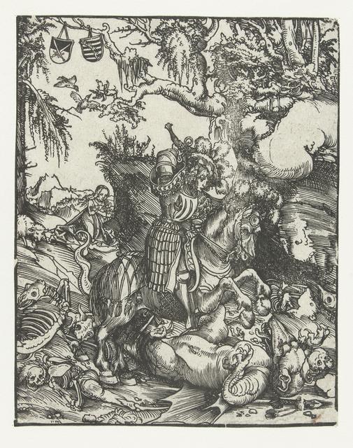 Heilige Joris (Georgius) doodt de draak