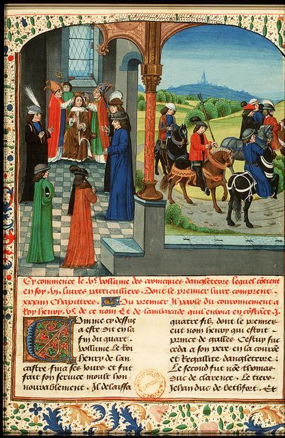Henry V crowned king of England