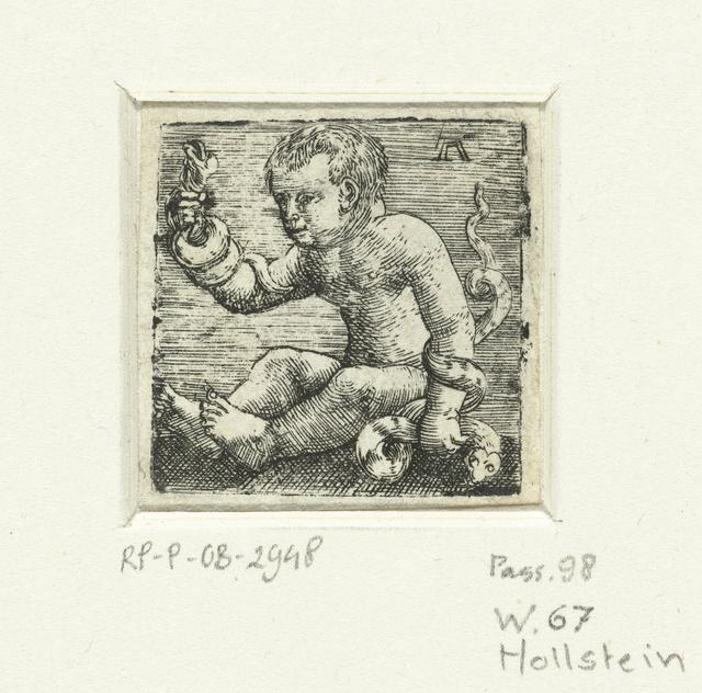 Hercules als kind doodt de slangen