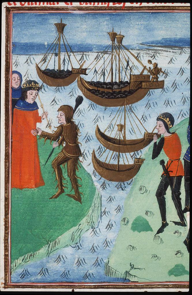 Hercules comes to Oeneus, king of Anatolia