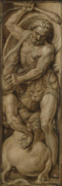 Hercules Slays the Centaur Nessus