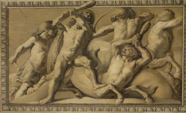 Hercules Slays the Centaurs (Jupiter Defeating the Centaurs)