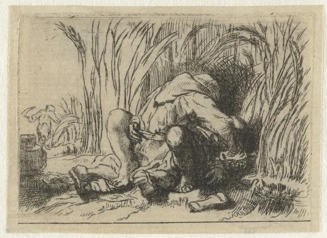 Het monnikje in het koren