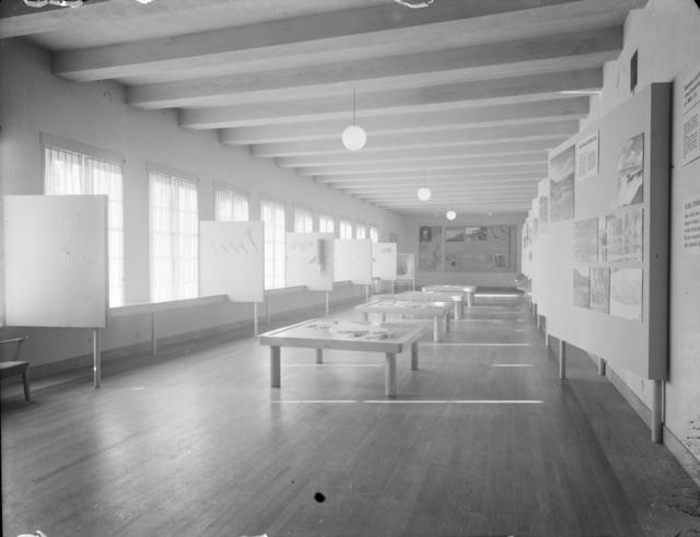 Historiska museet Utställningssal Interiör