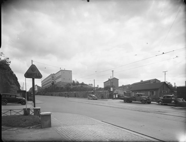 Hornsgatan från Varvsgatan, Södermalm, Stockholm Exteriör
