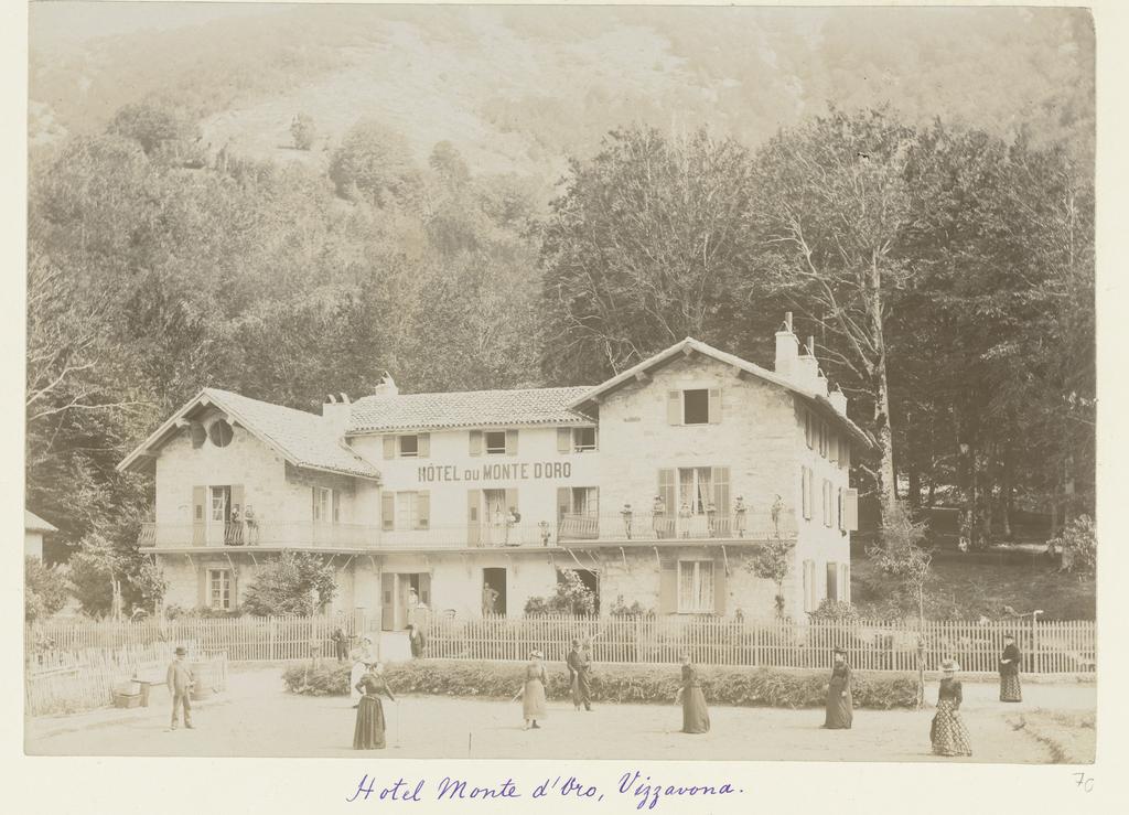 Hotel Monte d'Oro in Vizzavona op Corsica