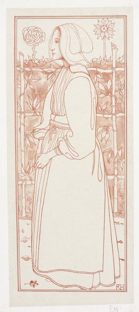 Huizer meisje, 1895