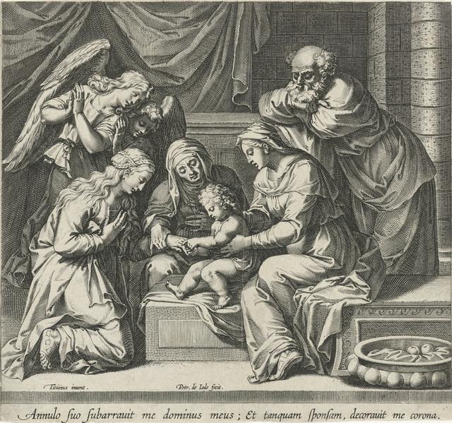 Huwelijk van de heilige Catharina van Alexandrië