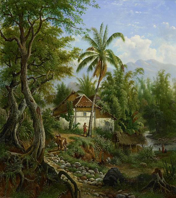 Indisch landschap