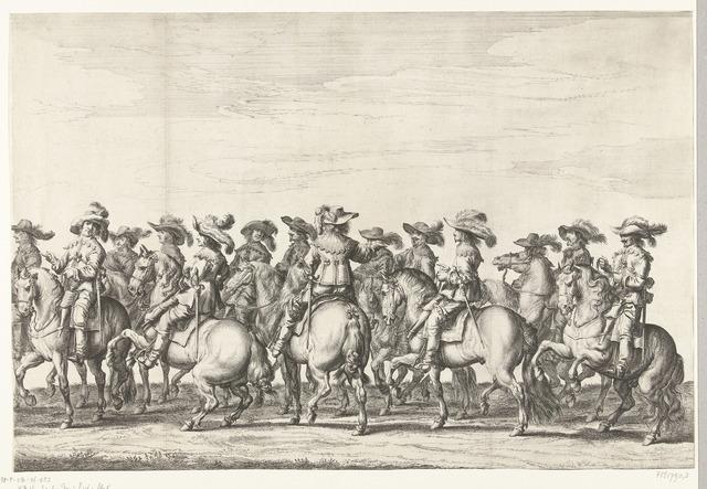 Intocht van Maria de Médicis te Amsterdam (plaat 3), 1638