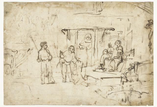 Jozefs bebloede rok wordt aan Jacob getoond