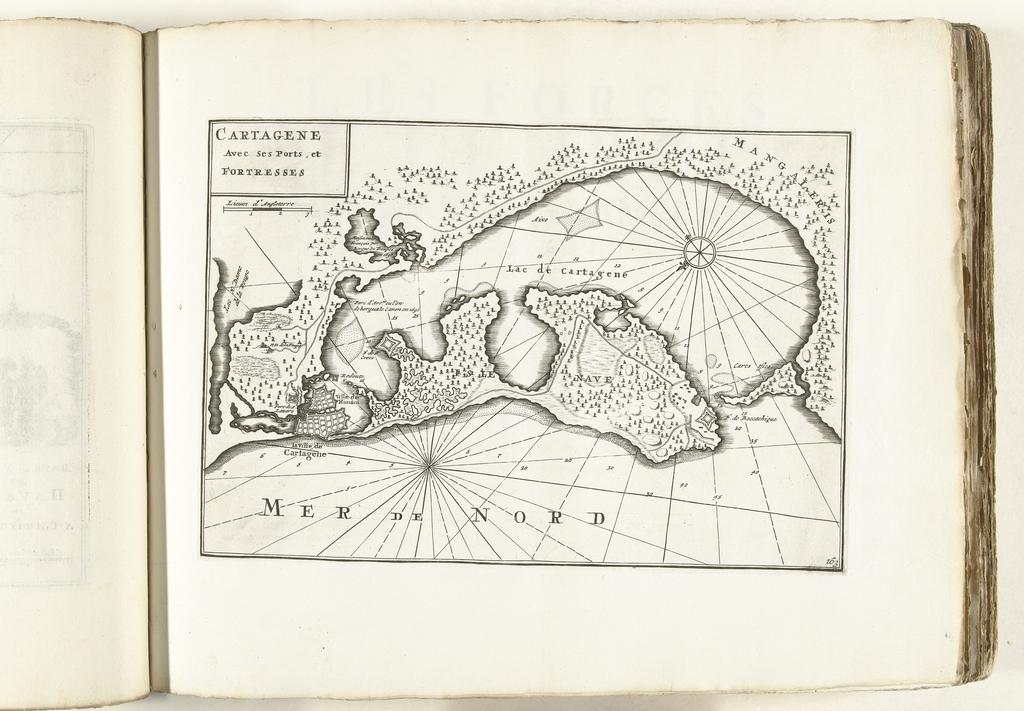 Kaart Van Cartagena In Colombia Ca 1702 Picryl Public Domain Image