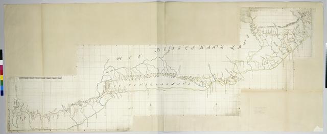 Kaart van de zuidkust tussen Tafelbaai en de Grote Keirivier