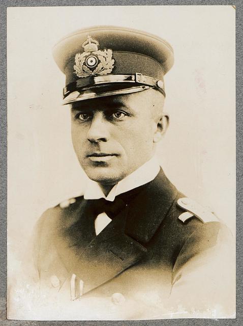 Kapitänleutnant von Arnauld de la Perière Kommandant des U-Bootes, das ein Handschreiben S. M. des Kaisers an S. M. den König von Spanien in den Hafen von Cartagena brachte ..