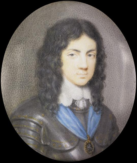 Karel II (1630-85), de latere koning van Engeland, als jongeman