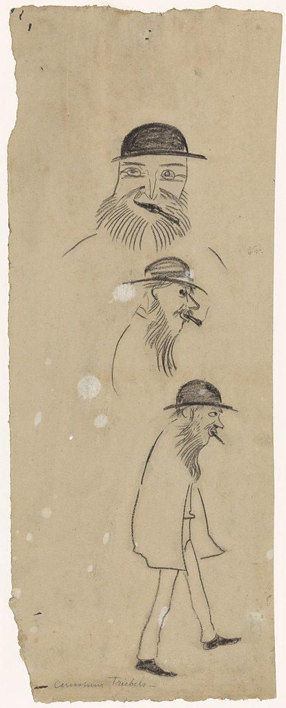 Karikaturen van Triebels