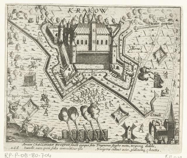 Kasteel Krakow ingenomen, 1605