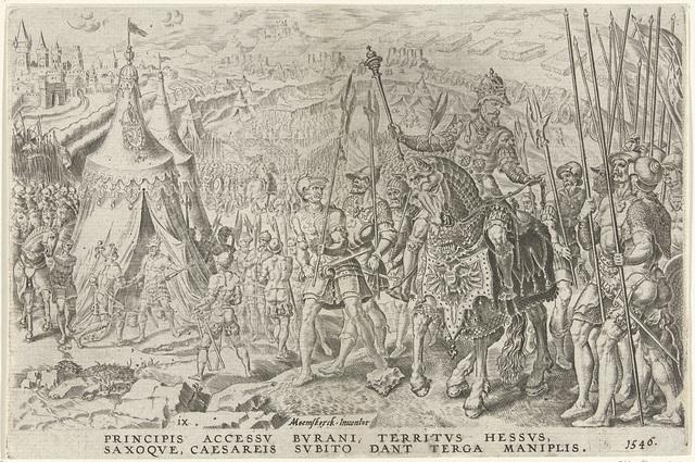 Keizerlijk kamp te Ingolstadt, 1546
