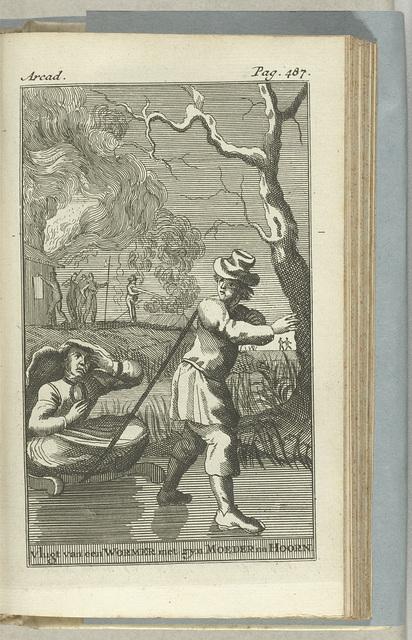 Lambert Melisz. uit Westzaan vlucht met zijn moeder over het ijs naar Hoorn, 1573