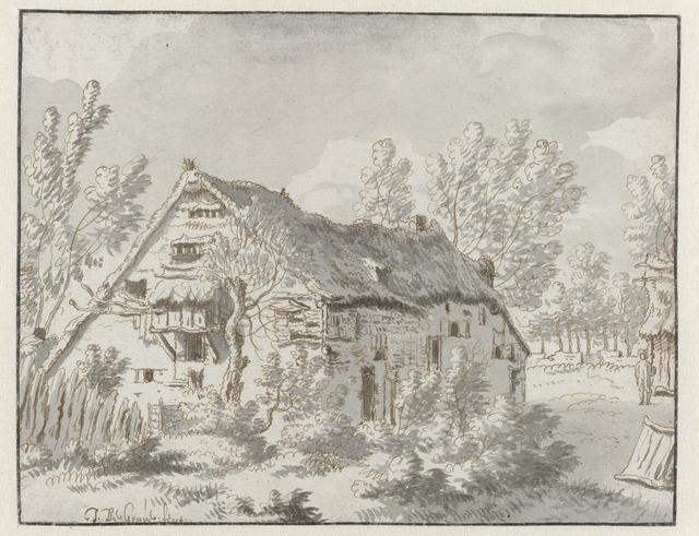 Landschap met boerenwoning nabij Mechelen