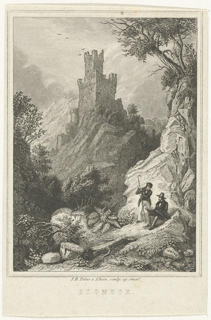 Landschap met burcht Sooneck
