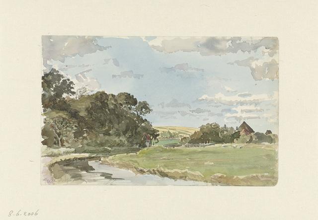 Landschap op Texel