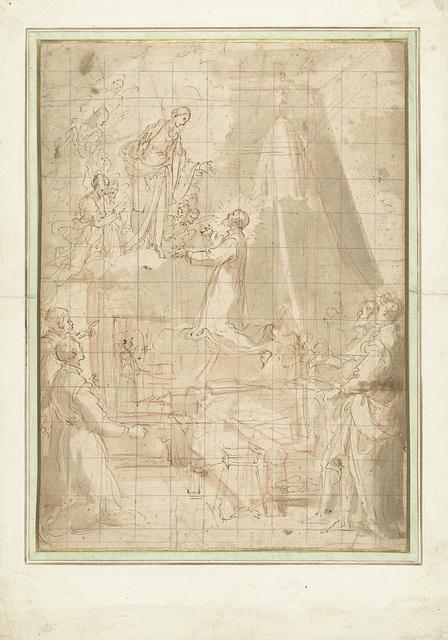 Maagd Maria verschijnt aan de heilige Filippo Neri