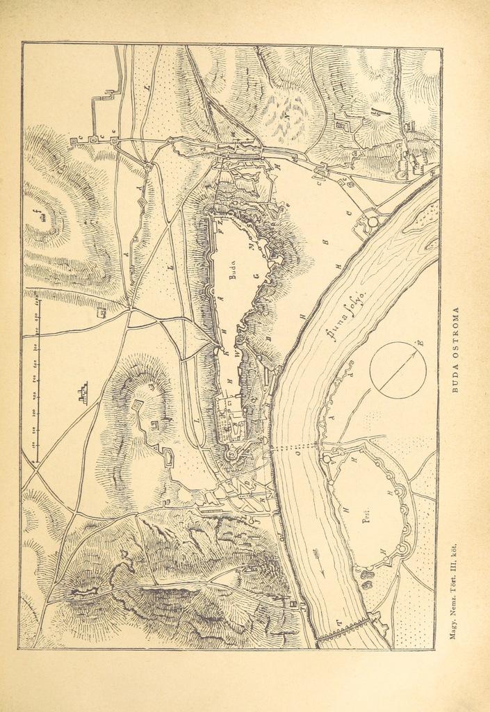 """map from """"A magyar nemzet története. I. kötet írta Bodon J. és Dr. Szalay J. (II.-IV.) kötet, írta Dr. Szalay J.) [With portraits.]"""""""