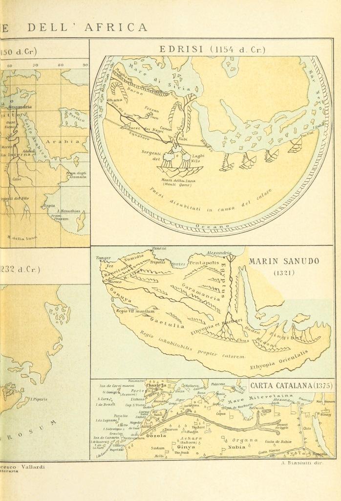 """map from """"La Terra, trattato popolare di geografia universale per G. Marinelli ed altri scienziati italiani, etc. [With illustrations and maps.]"""""""