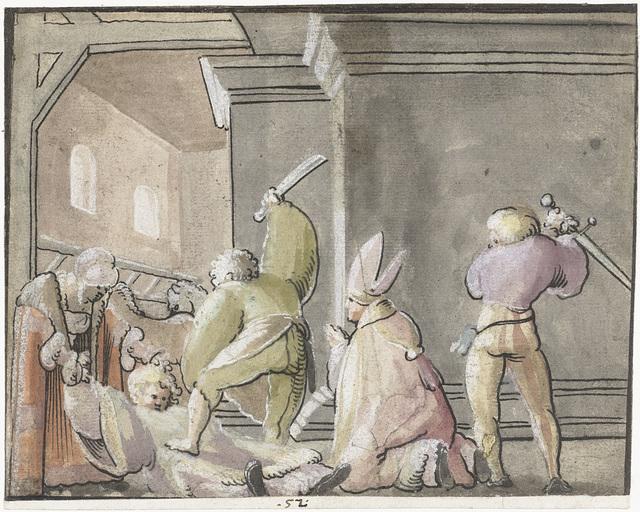 Martelaarschap van een bisschop en zijn dienaar