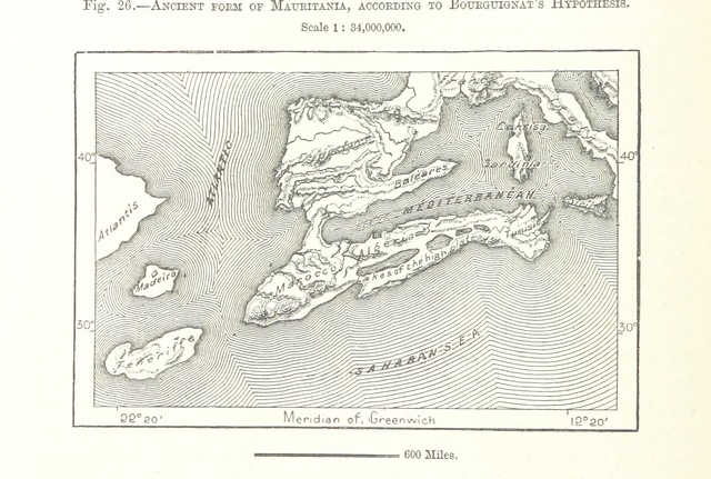"Mauritania from ""The Earth and its Inhabitants. The European section of the Universal Geography by E. Reclus. Edited by E. G. Ravenstein. Illustrated by ... engravings and maps"""