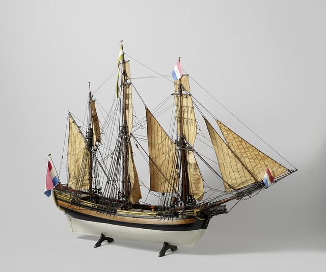Model van de polakker Daedalus