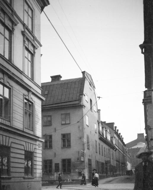 Monteliushuset, Sankt Paulsgatan 11 på Södermalm, Stockholm Exteriör  Resebilder Stockholm, Sverige, Italien mm