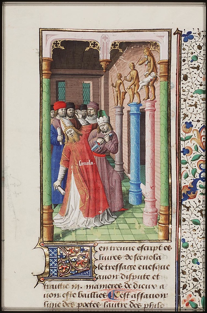 Murder of the Pontifex Maximus Quintus Mucius Scaevola in the temple of Vesta, during the civil war between Marius and Sulla