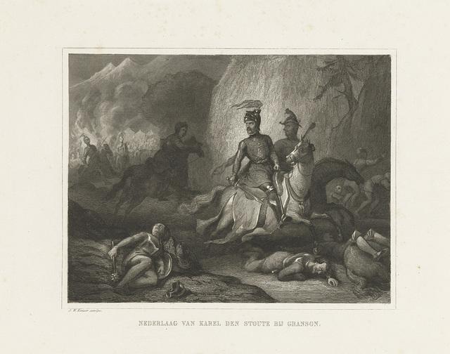 Nederlaag van Karel de Stoute bij Grandson, 1476