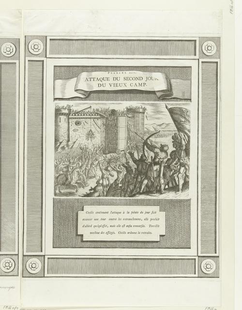 Nieuwe aanval op een Romeinse vesting, 69-70