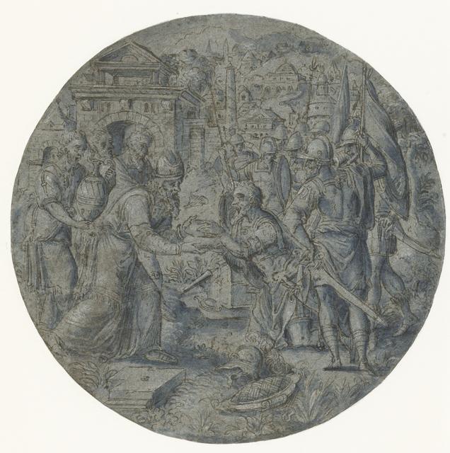 Ontmoeting van Abraham en Melchizedek