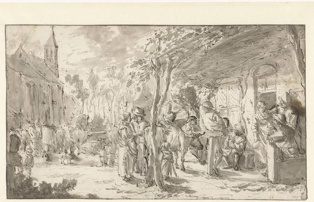 Ossenmarkt te Hillegom
