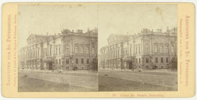 Paleis van vorstin Bieloselsky, Sint-Petersburg, Rusland (38. Palast der Furstin Bieloselsky)