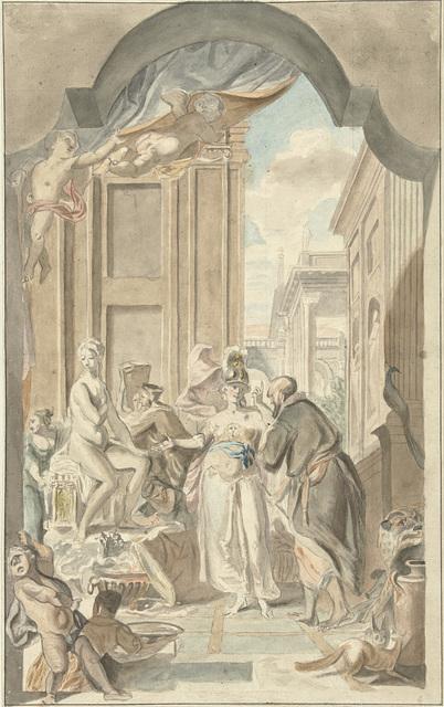 Pallas Athene in het atelier van Prometheus