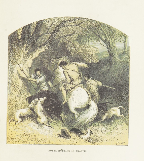 """People from """"The Carewes: a tale of the Civil Wars. With twenty-four illustrations by B. Foster"""""""